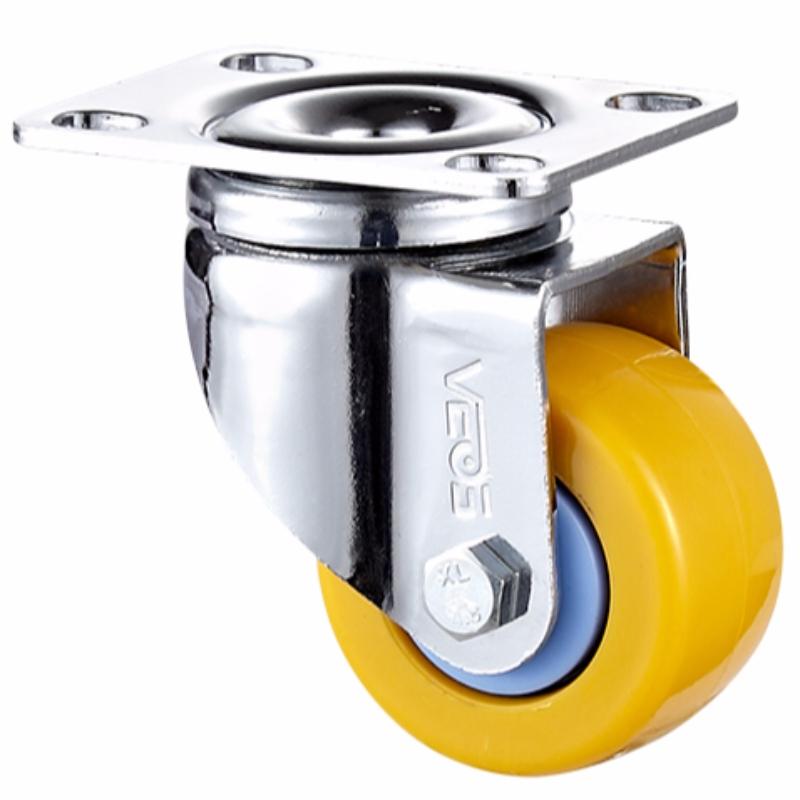 Ljus tull + +- kromat hölje med Orange TPE-hjul