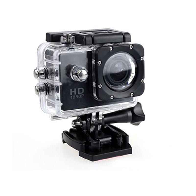 Bärbar Real VGA 480P Mini Action Camera för presentföretag D34
