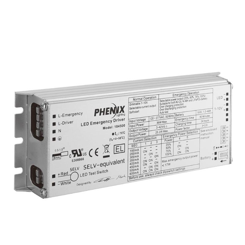 18450X INTEGRERAD LED AC + NÖDDRIVARE