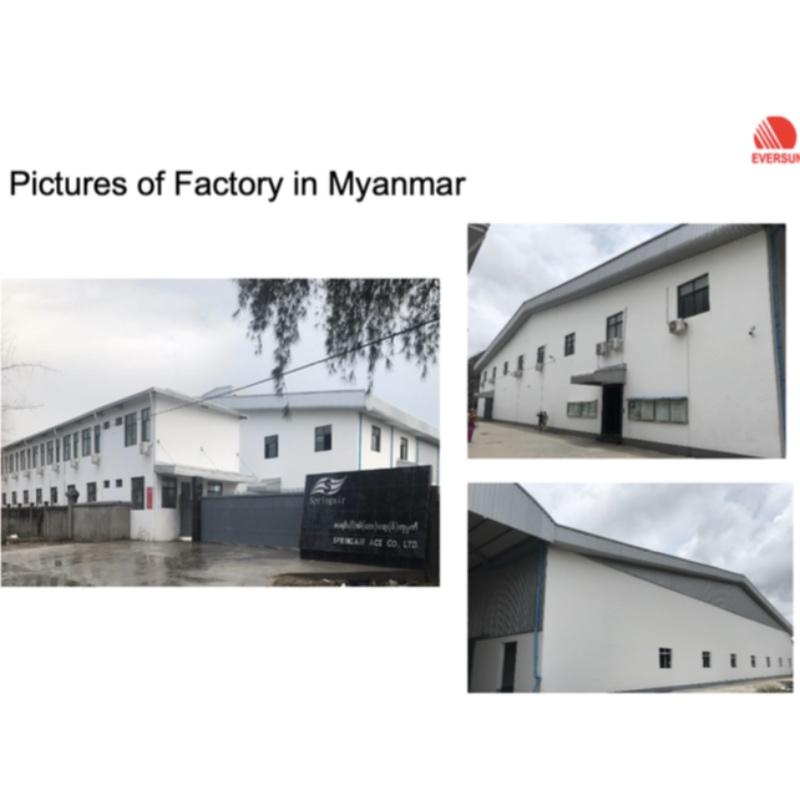 Fullt ägd Myanmar Factory