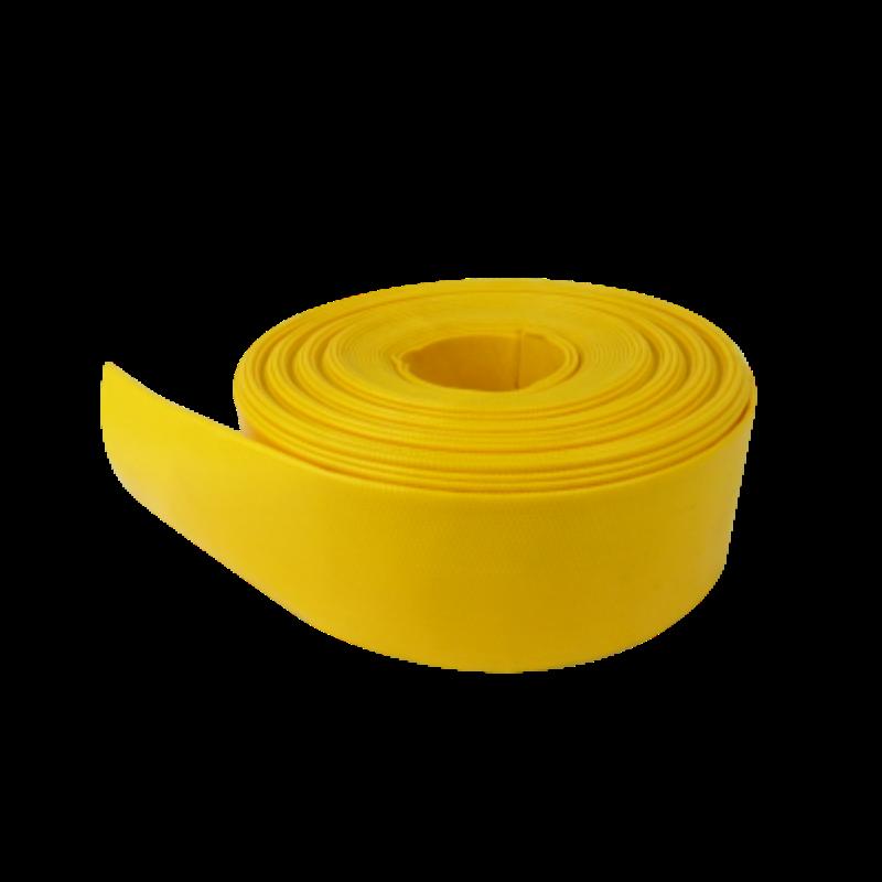 2019 heta försäljning Jordbruksfärgad färgglad bevattning 1-8 tum PVC layflat slang vattenpump slang