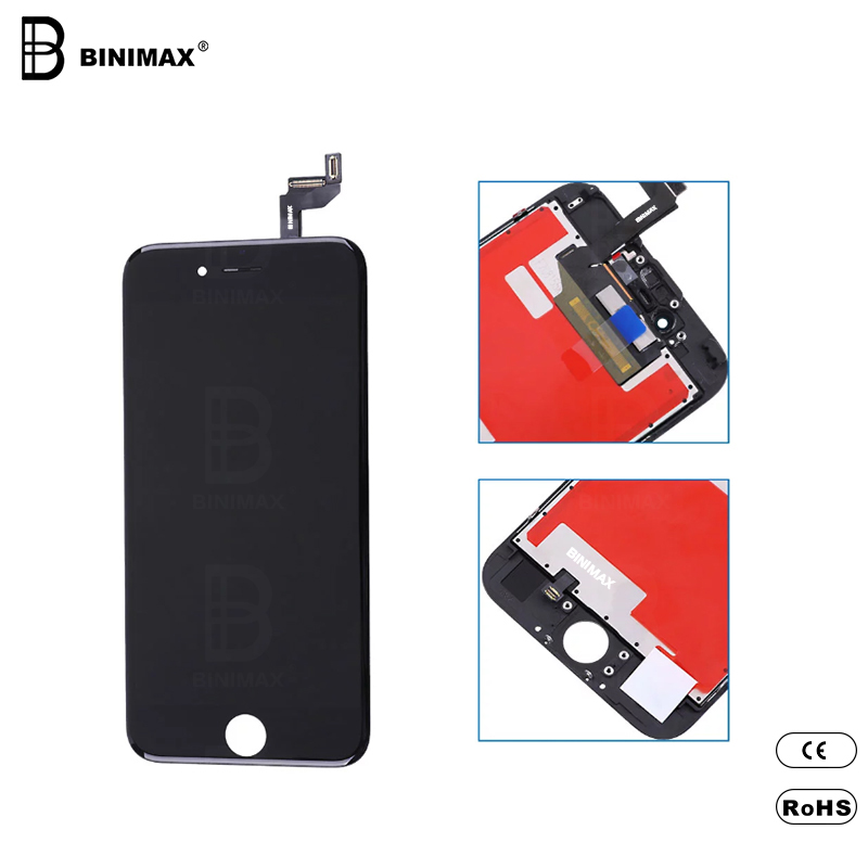 BINIMAX mobiltelefon TFT LCD-skärmmontering för ip 6S