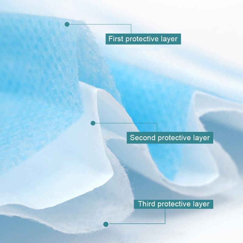 3-lagers dagligt skyddande ansiktsmask för vuxna
