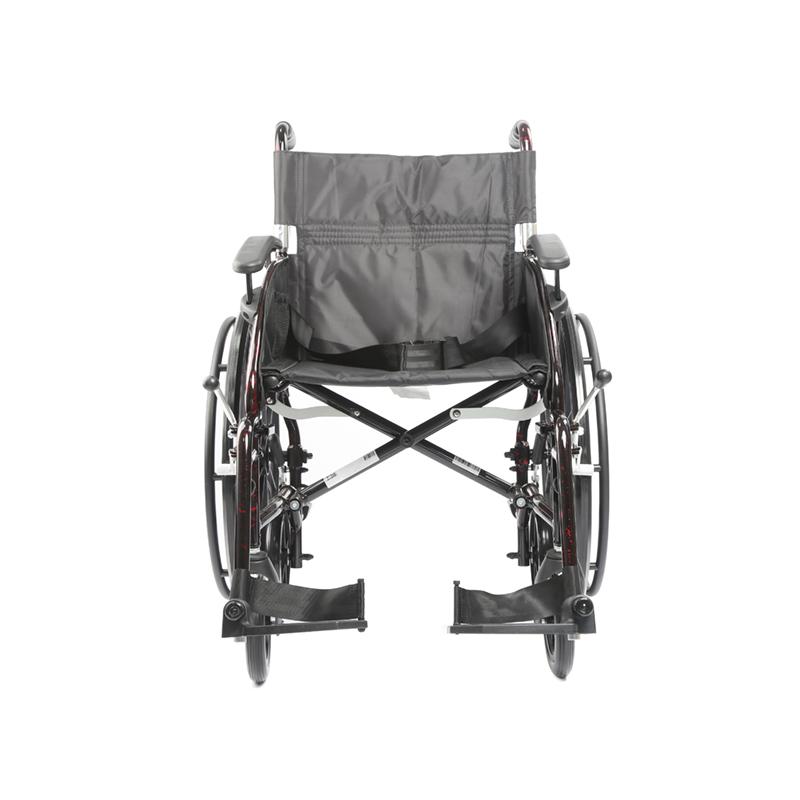 Lätt rullstol, Transporter-aluminium rullstol, Transportstol 2 i 1