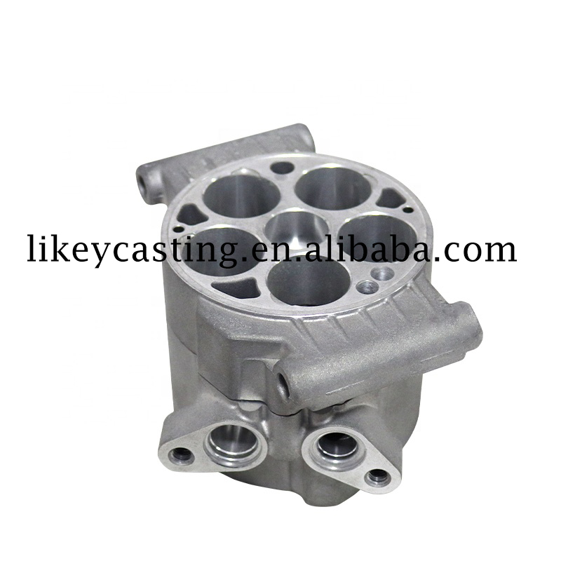 Aluminium Alloy Squeeze Casting&Die Casting New Energy Car Compressor Huvudkroppen
