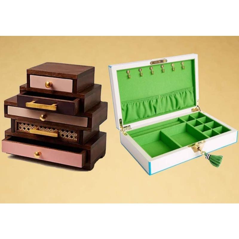 Bästa smyckearrangörer: lådor, lådor och mer för att hålla dina smycken städa
