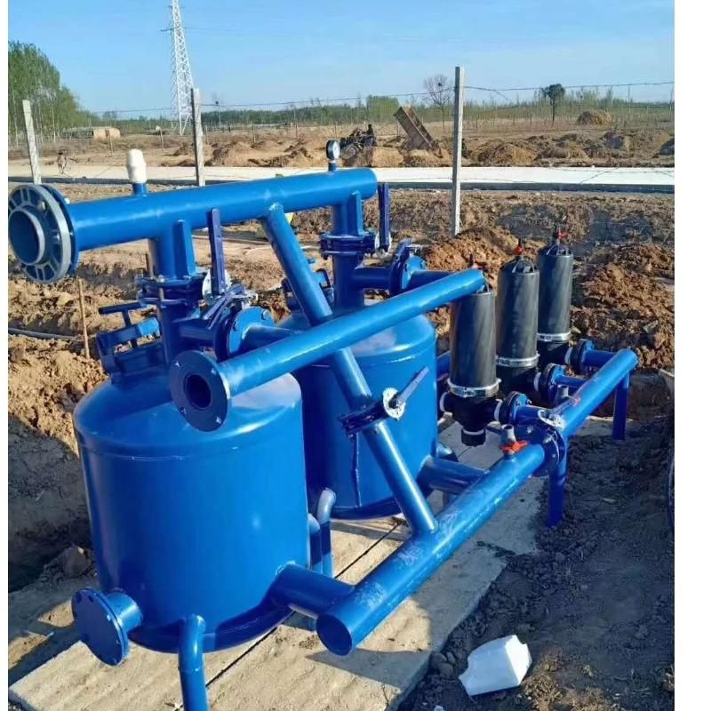 Automatiskt backspolningsfilter är ett viktigt huvudsystem för droppbevattningssystem